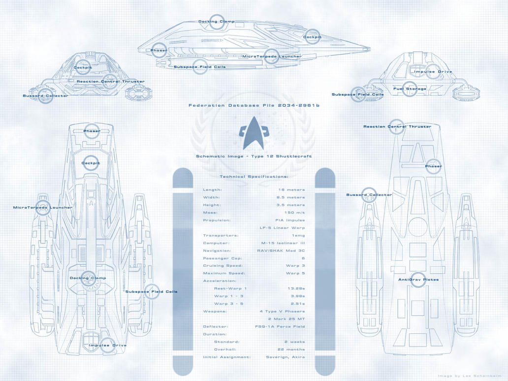 Shuttle Schematic by arrghman