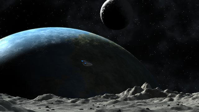 Moon Landing WIP by arrghman