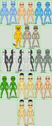 Templates Star Trek Species by MimicZeThird