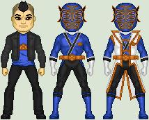 Shinkenger OC: ShinkenNeptune by MimicZeThird