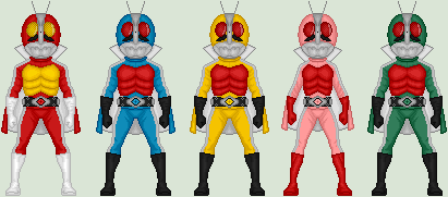 Kamen_Sentai_GoRiders by MimicZeThird