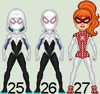 Spider-Ladies_02 by MimicZeThird