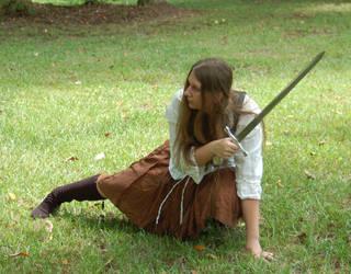 Iolani Blacksmith - Crouching