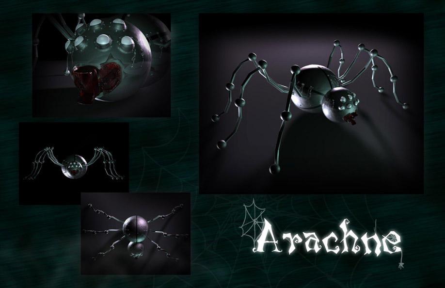 Suicunes' Art Shop Mecha_spider_by_symbolsor