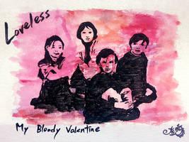 My Bloody Valentine - Loveless by damnkidyk