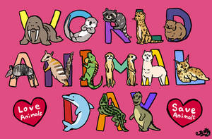 World Animal Day by damnkidyk