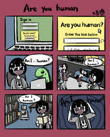 Are you human by damnkidyk