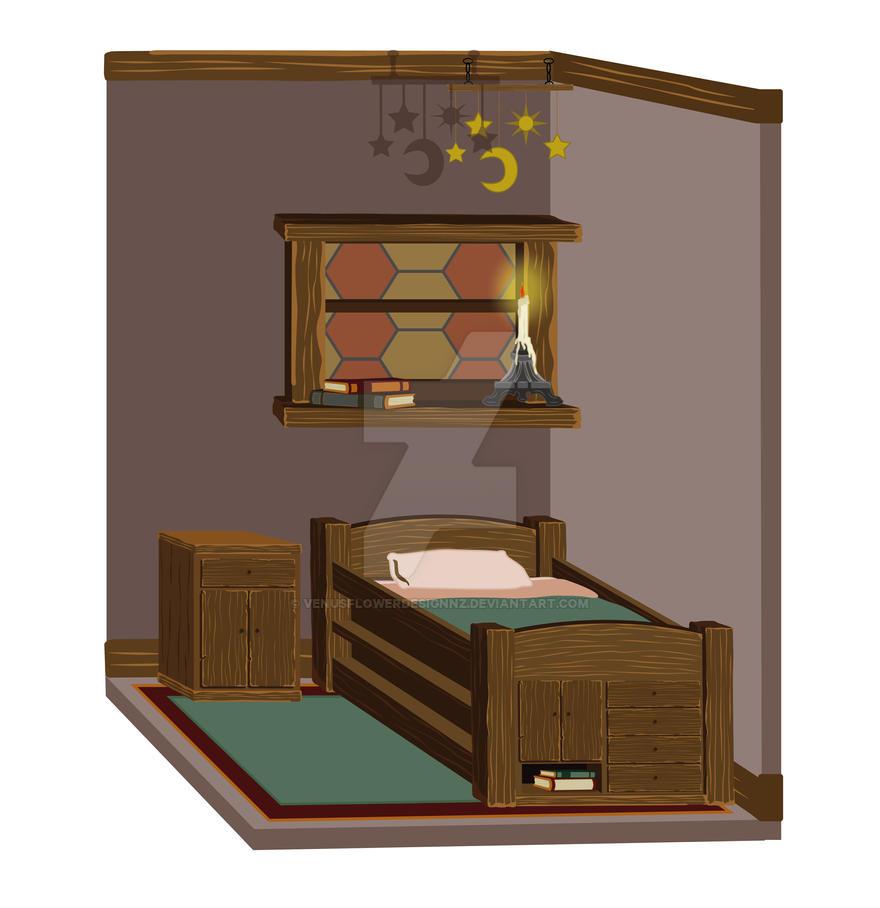 Small Medieval Bedroom By VenusFlowerDesignNZ ...