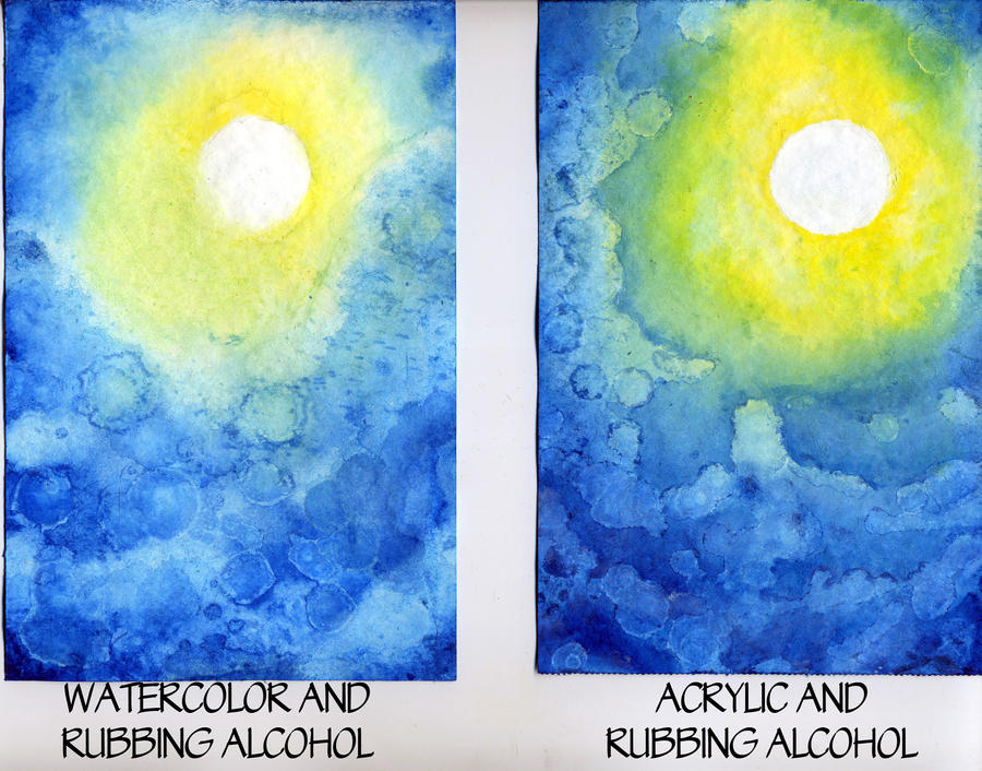 Watercolor vs acrylic round 1 by raspberrymetamorph on for Oil or acrylic