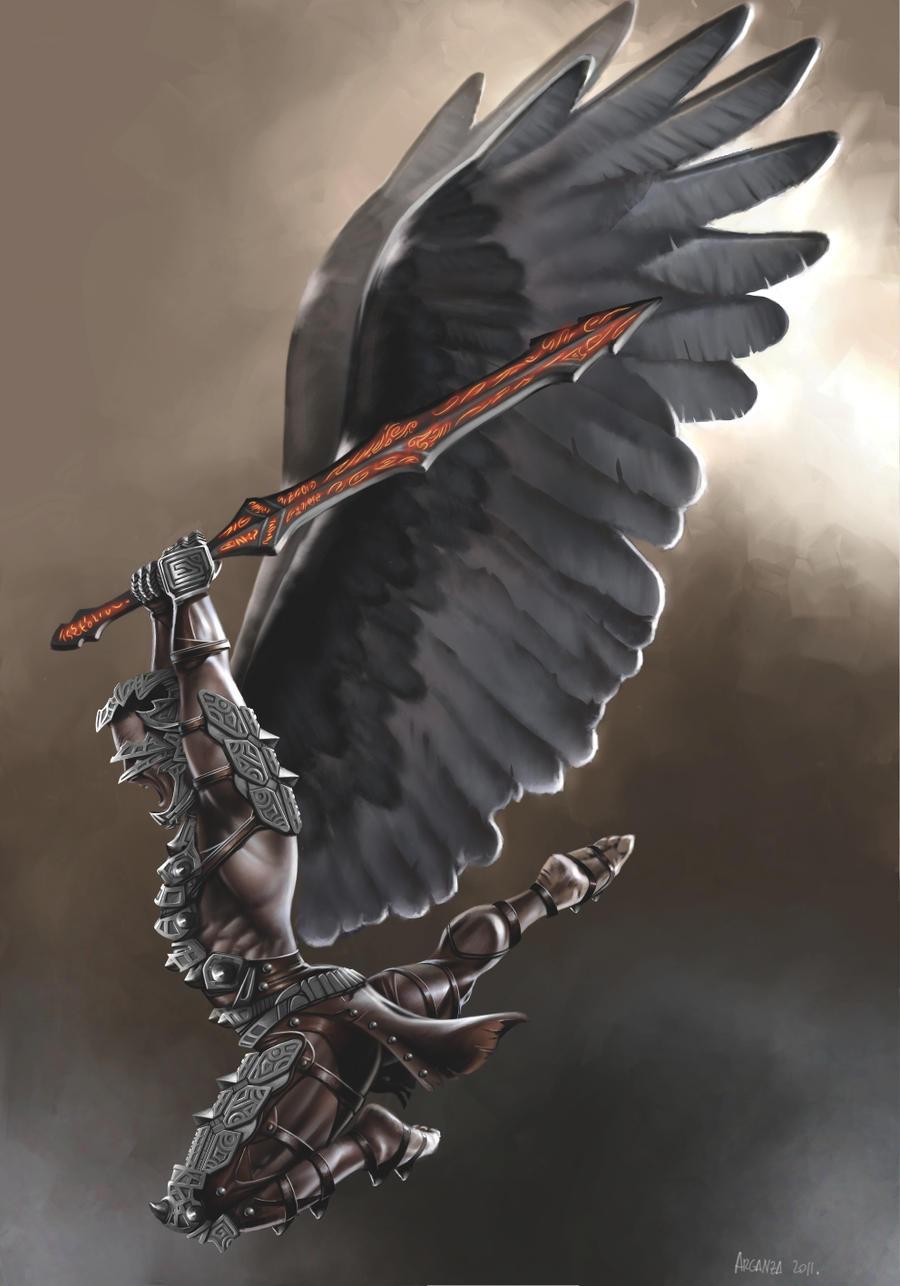 Warrior Angel version 2 by arganza on DeviantArt