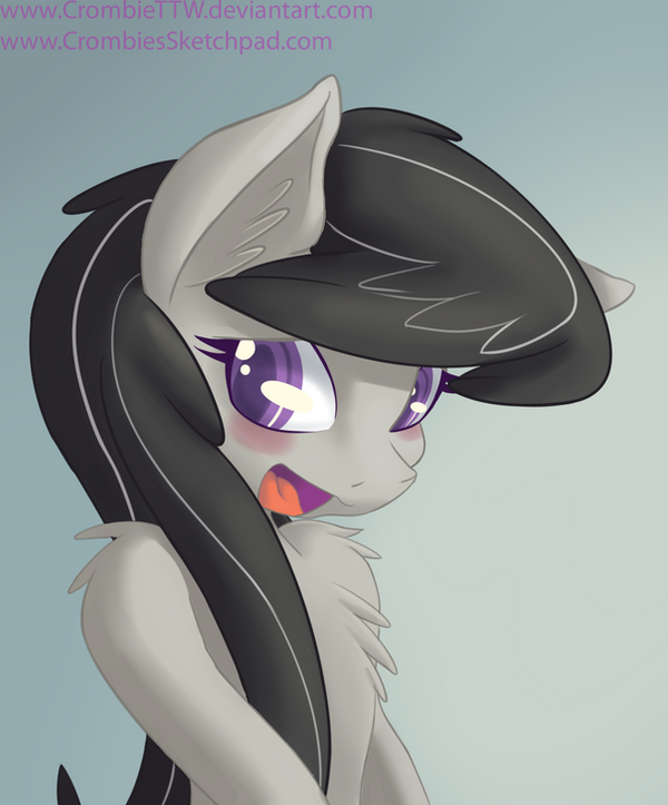 Octavia blushing by CrombieTTW