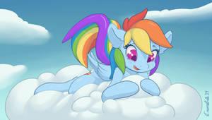 Rainbow Dash by CrombieTTW