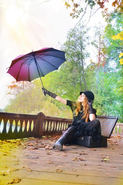 Under the umbrella by Tairin-Rur
