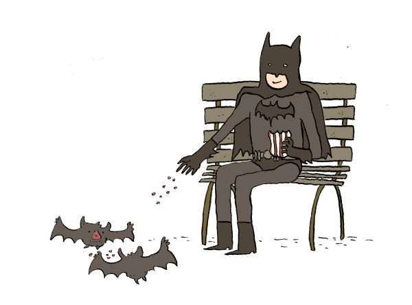 Batman and Friends by quite-possibly