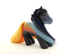 New York Sunset Pony 2