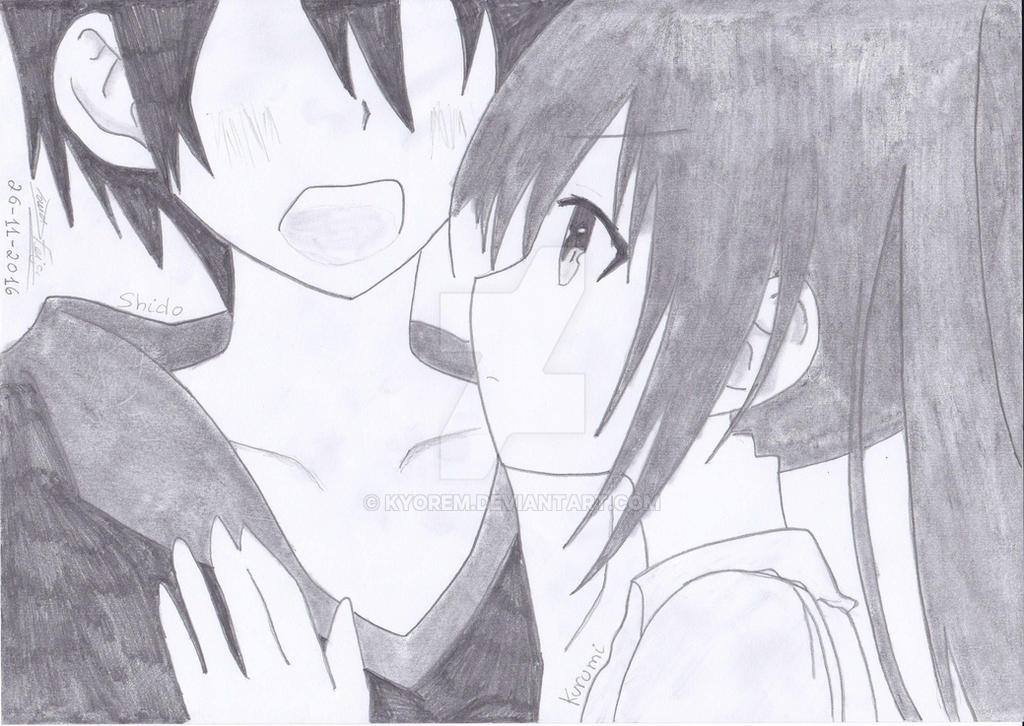 Shido And Kotori From Date A Live By Kyorem On Deviantart