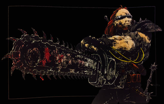 Chain Saw Juicer