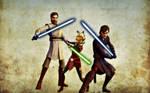 Clone Wars - Trio Wallpaper