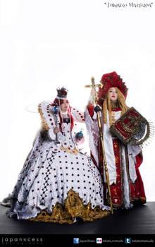 Esther Blanchett and Cardenal Catherina Sforza