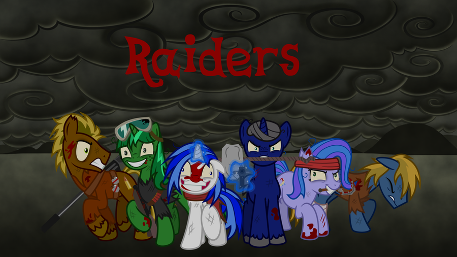 Fallout Equestria Raiders Wallpaper By Hunterz263 On
