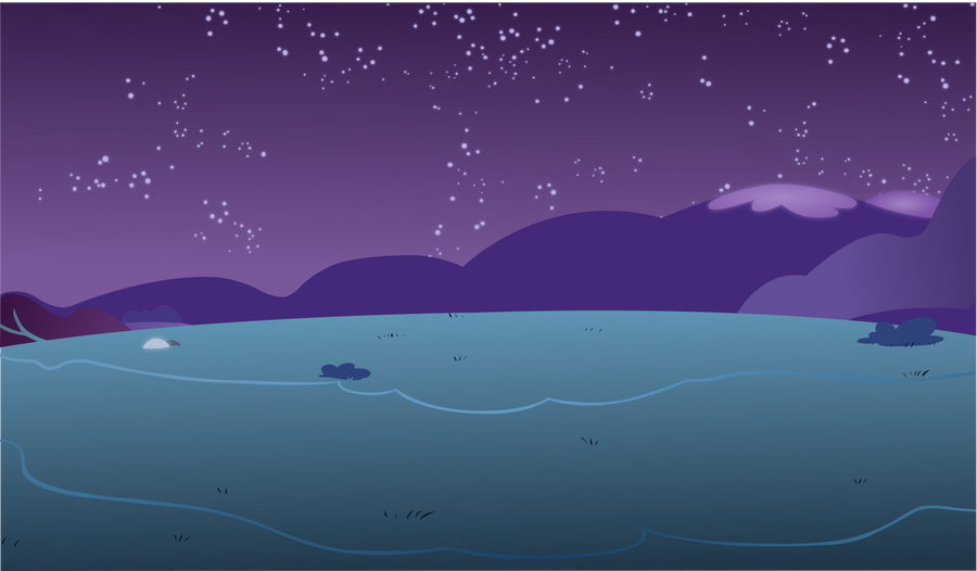 Peaceful Night Background by hunterz263