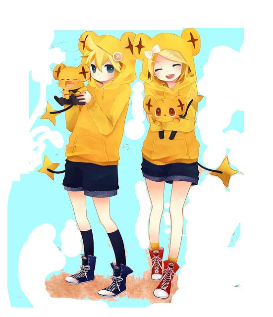 Rin And Len Kagamine Tumblr Rin y Len Kagamine Kawaii