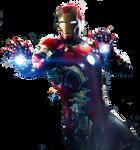 Iron Man Png-Poster Version 2