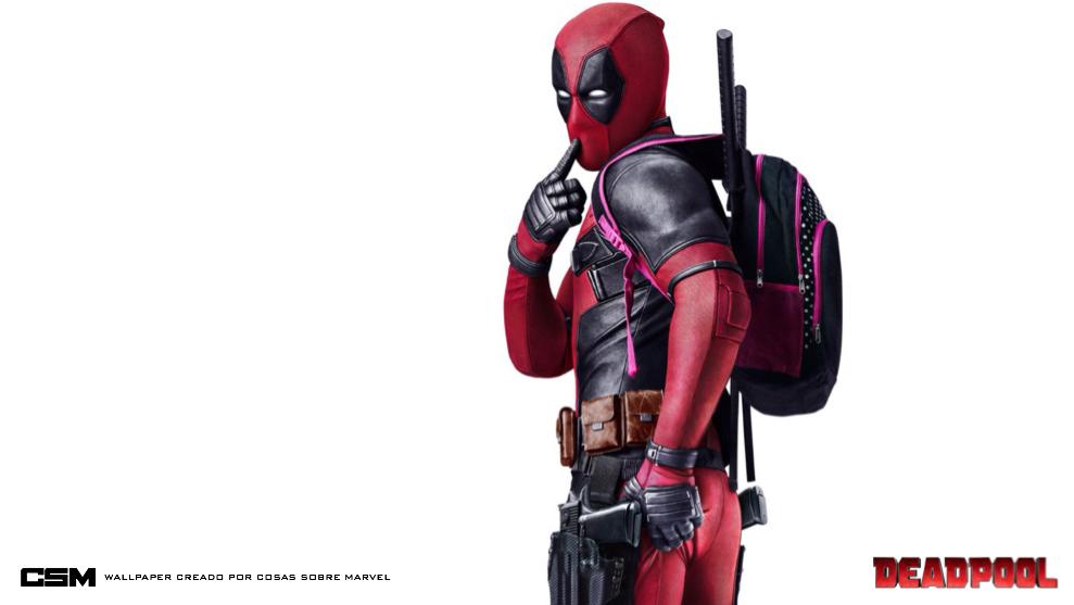 Deadpool Poster Wallpaper by Admin-Cap