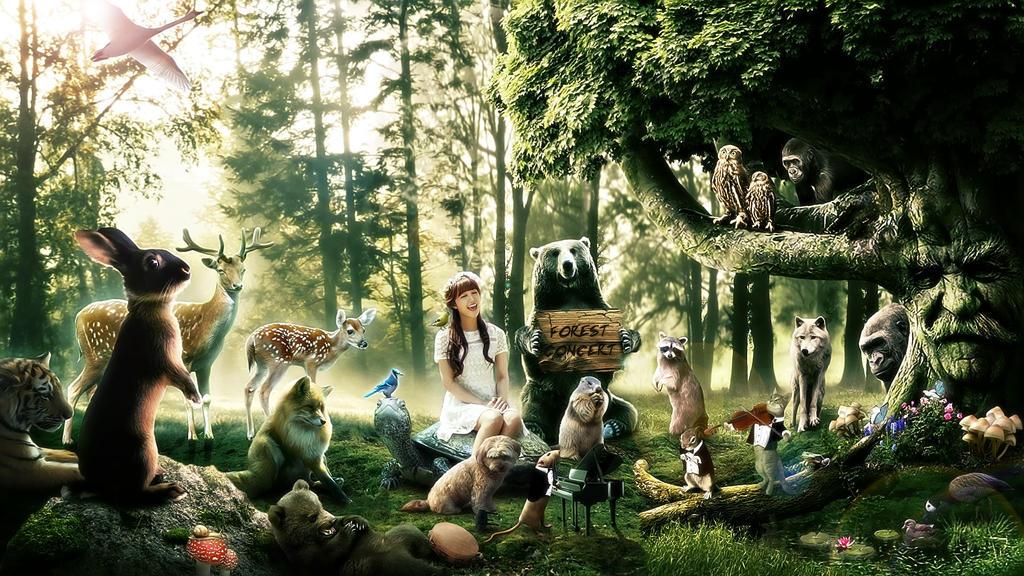 Forest concert by FantasyArt0102