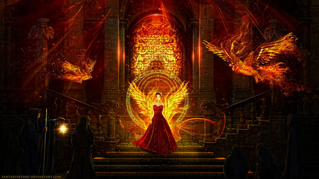 Goddess of Fire by FantasyArt0102