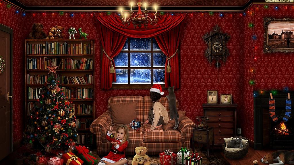 Christmas by FantasyArt0102