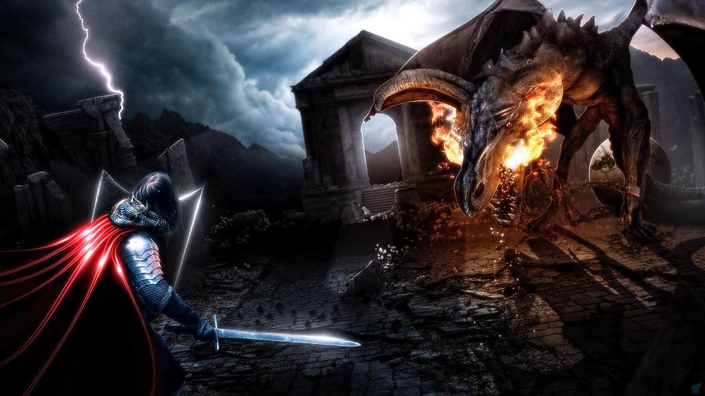 Dragon-Quest by FantasyArt0102