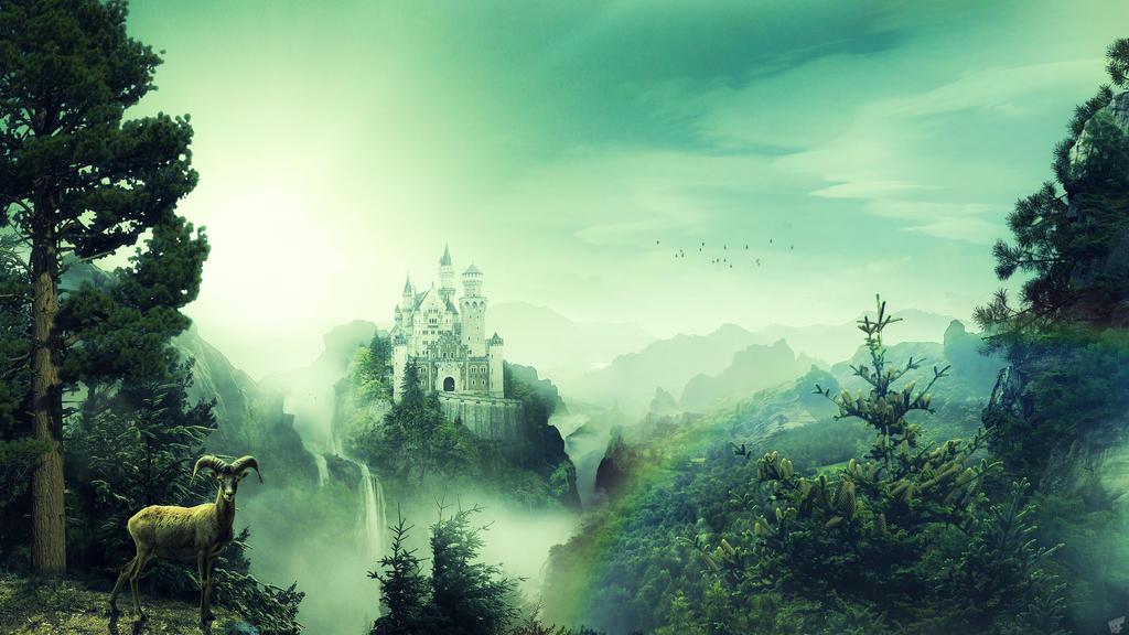 Dream Castle by FantasyArt0102