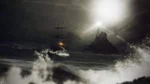Lighthouse by FantasyArt0102