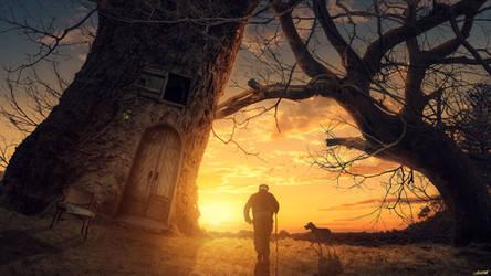 Big Tree by FantasyArt0102