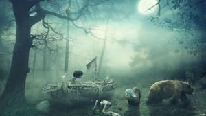 Hideout by FantasyArt0102