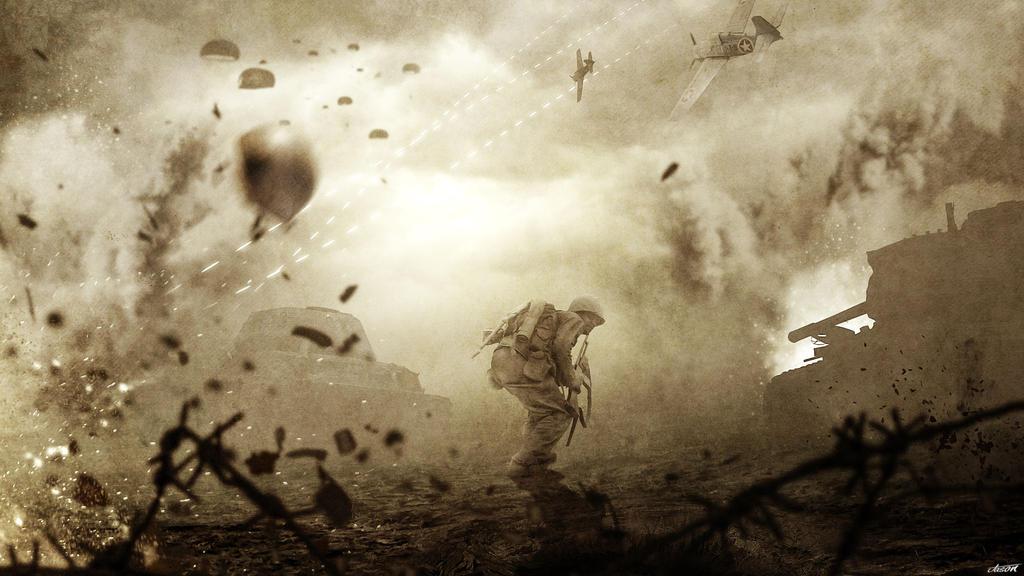 The War by FantasyArt0102