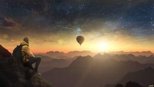 Balloon by FantasyArt0102