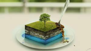 Apple Cake by FantasyArt0102