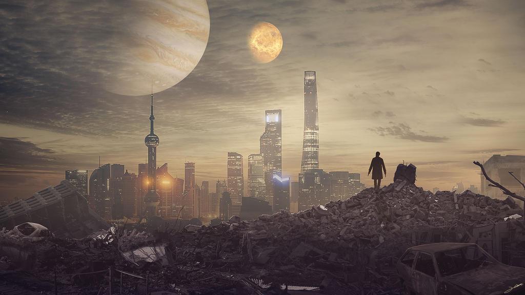 The City by FantasyArt0102
