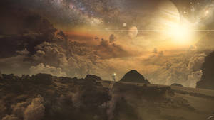 Dark Planet by FantasyArt0102