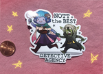 Stcikers - Nott the Best Detective Agency (Etsy)
