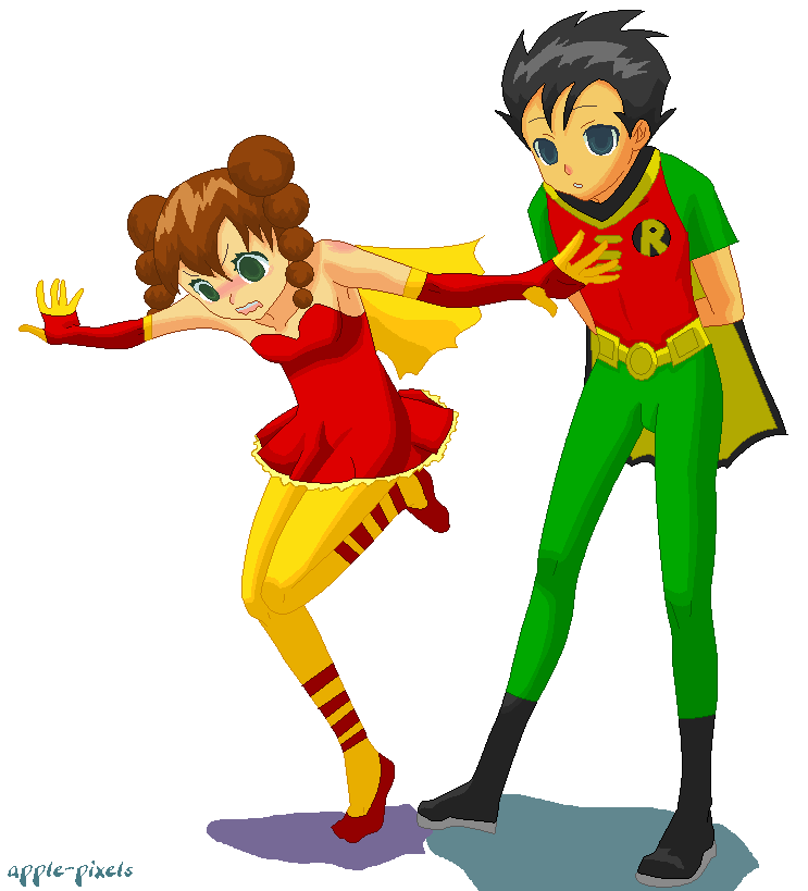 Highwire and Robin - Balance by NekoChika