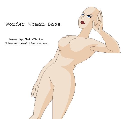 Wonder Woman Base by NekoChika