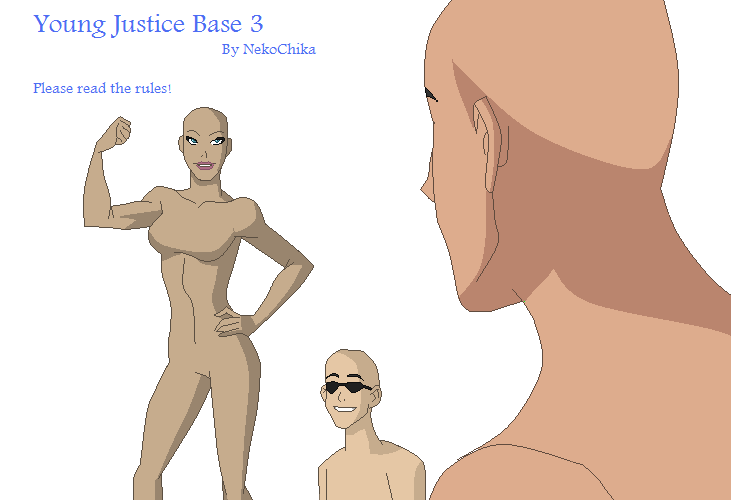Young Justice Base 3 by NekoChika