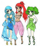 Din, Nayru and Farore