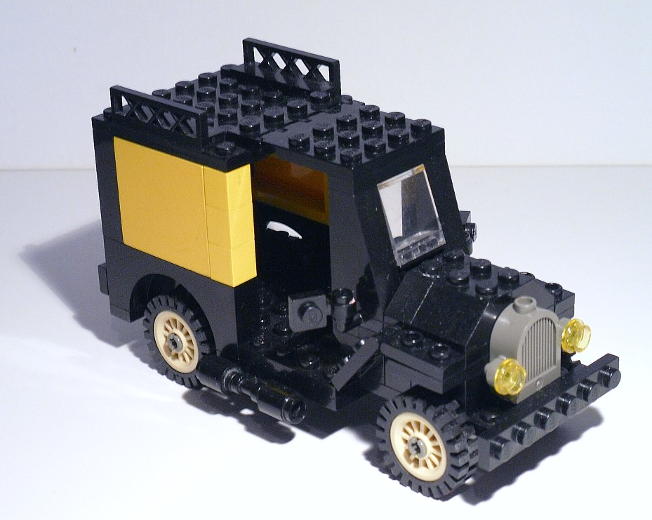 Lego Oldtimer by Lemniskate