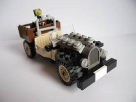 Desert jeep by Lemniskate