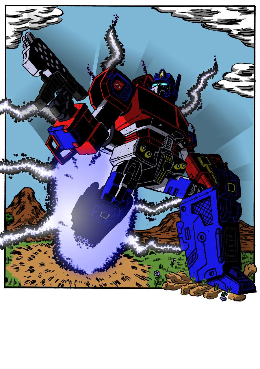 Regeneration Plus Optimus Prime