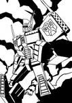 Josh Burcham's Optimus Prime